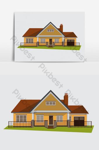 Gambar Atap Rumah Kartun : gambar, rumah, kartun, Gambar, Pondok, Kartun, Vektor, Download, Gratis, Pikbest