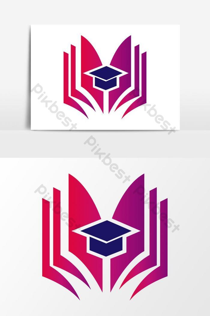 Logo Buku Vector : vector, Vector, Graphic, Element, Images, Download, Pikbest