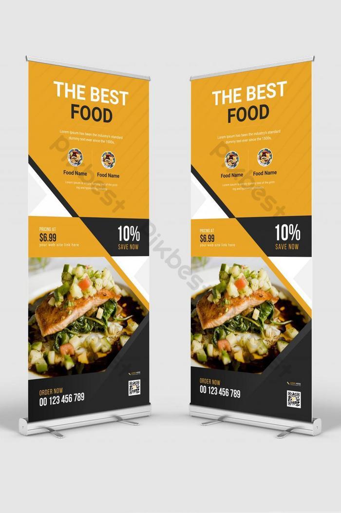 Download Gratis Contoh Desain X Banner Makanan Full HD Lengkap