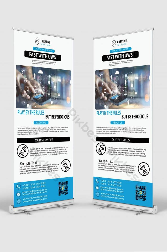 Roll Up Banner Png : banner, Corporate, Banner, Download, Pikbest