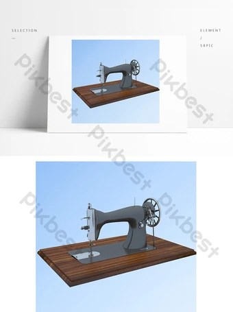 Gambar Jahit : gambar, jahit, Gambar, Mesin, Jahit, Template, Vektor, Download, Pikbest
