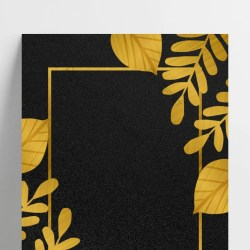 Black gold color plant texture simple business border background Backgrounds PSD Free Download Pikbest