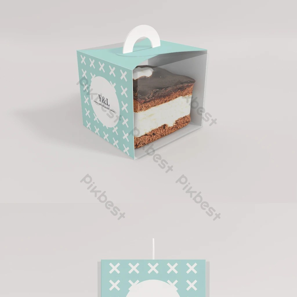 This cake box mockup will help you showcase your designs more delightfully. Original Model Big Cake Box Mockup Packaged Small And Fresh Psd Free Download Pikbest