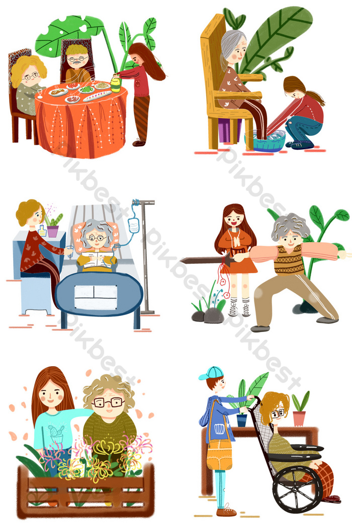 Kartun Orang Tua : kartun, orang, Merawat, Orang, Menghormati, Mencintai, Koleksi, Ilustrasi, Kartun, Digambar, Tangan, Elemen, Grafis, Templat, Unduhan, Gratis, Pikbest