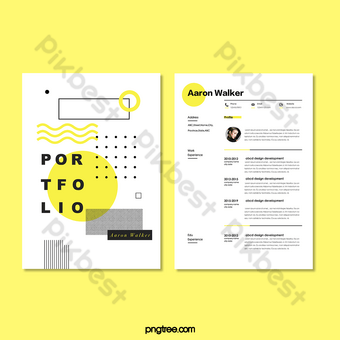 Portfolio templates assemble your best work in a modern and professionally designed portfolio to impress and draw the attention it deserves. Portfolio Images Free Psd Templates Png And Vector Download