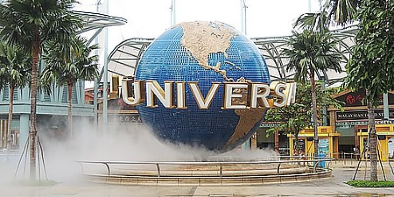 景點‧新加坡 哇~馬達加斯加、史瑞克、侏儸紀、古埃及、科幻城市、芝麻街集聚一堂的《環球影城》