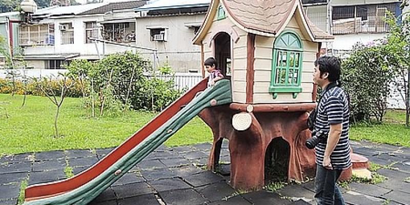 台中‧霧峰。親子餐廳 【私房 Garden】在幼稚園裡用餐及玩耍的樂趣