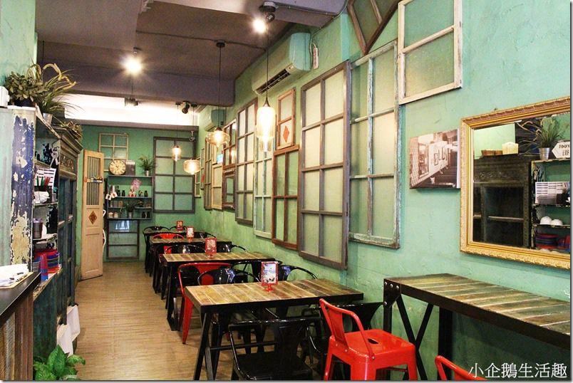 彰化美食。主題餐廳|【喜喜茶室】極具香港復古氛圍的茶室 港式小點好道地