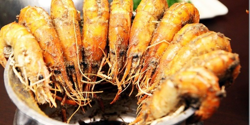 台中。美食|【一品活蝦(台中漢口店)】新鮮泰國蝦屏東直送 鮮甜美味吃到停不下來