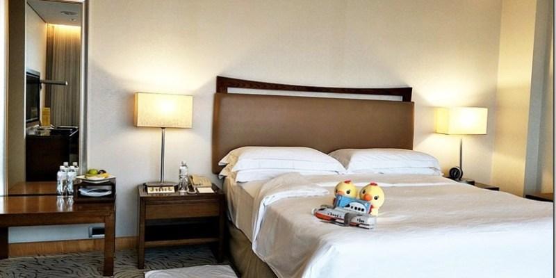 台中住宿|【裕元花園酒店】親子一同泡澡看高鐵享受大台中的百萬夜景