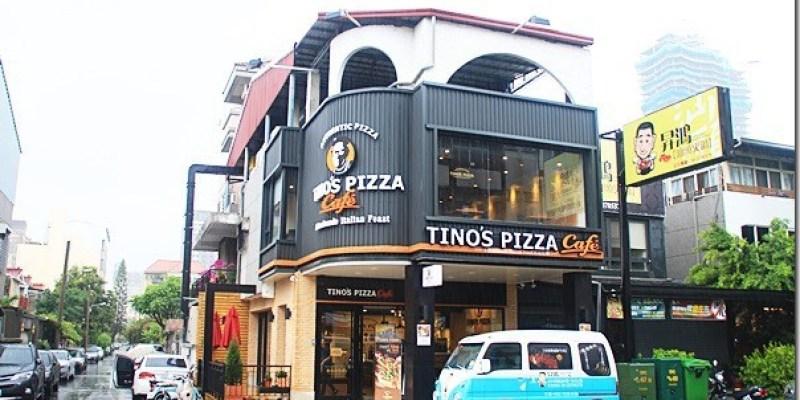 台中。美食|【TINO'S PIZZA Cafe】國美館附近的美食 討喜的星形披薩是吸睛的焦點