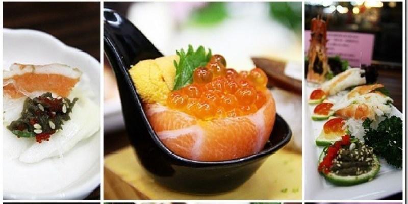 台中。美食|【丸億生魚片握壽司】隱身於台中北屯新一點利黃昏市場的日本料理
