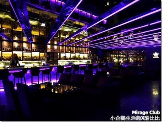 主題餐廳‧台中|隱身於悅棧酒店裡超有氣氛的Lounge bar《Mirage Club》