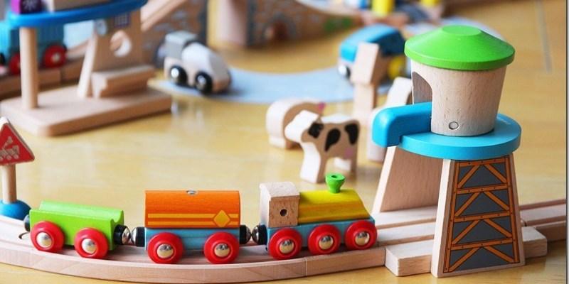 育兒好物|【EverEarth木製軌道車系列】小男生心中夢想的木頭軌道車