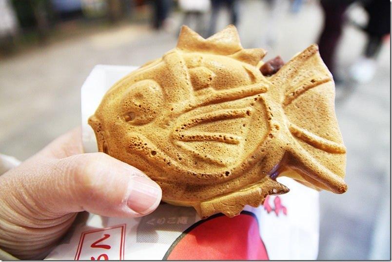 日本。秋葉原|【鯉魚王燒】在日本街上收服鯉魚王 咬下去不會都是骨頭唷