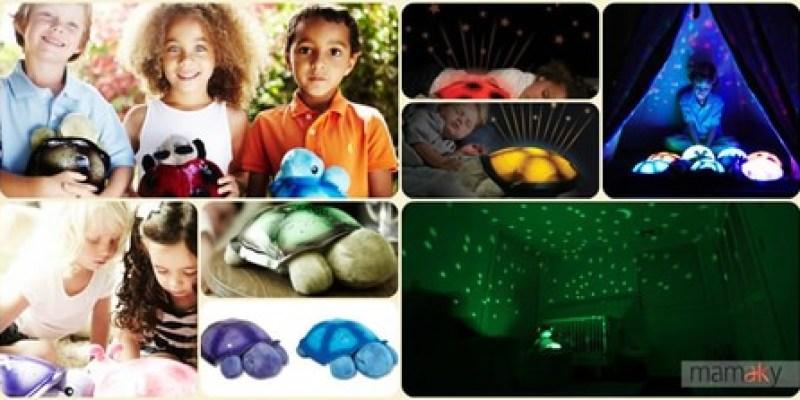 【邀稿文】小企鵝最愛‧Mamaky熱銷產品~星空點點小海龜夜燈玩偶