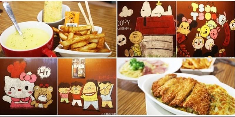 員林。美食|【土司森林】超卡哇伊的卡通人物陪著吃早午餐好幸福
