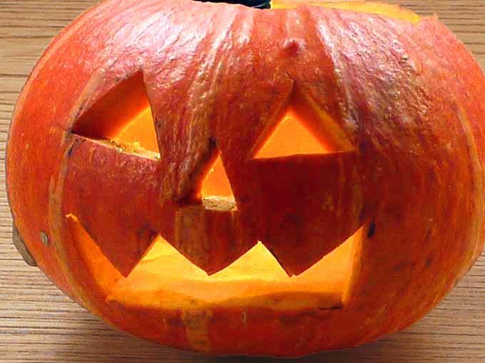 ハロウィンのかぼちゃちょうちん「ジャックランタン」