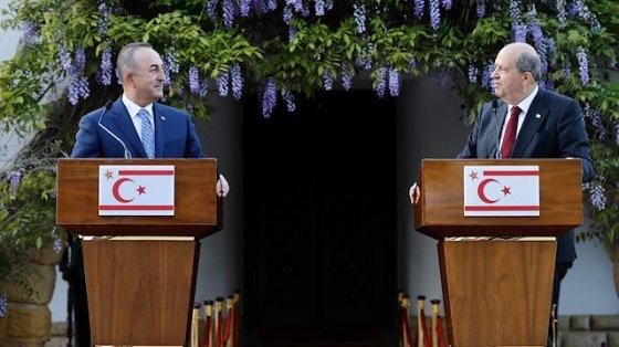 Ο υπουργός Çavuşoğlu είναι στην ΤΔΒΚ: Δεν θα σπαταλήσουμε άλλο χρόνο στην ομοσπονδιακή λύση