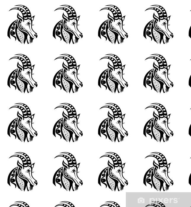 Papel Pintado Signos Del Zodiaco Capricornio Diseño Del Tatuaje