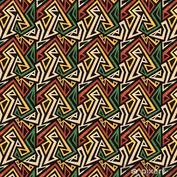 papier peint a motifs africain motif geometrique parfaite avec effet grunge pixers nous vivons pour changer