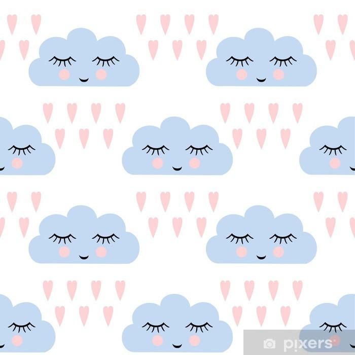 clouds pattern seamless pattern