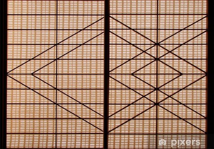 papier peint shoji panneau coulissant japonais pixers nous vivons pour changer