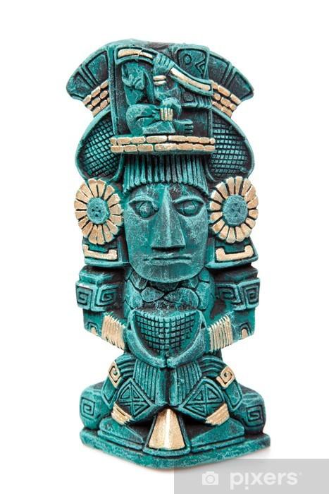 Papier peint Maya statue de dieu du Mexique isol  Pixers  Nous vivons pour changer