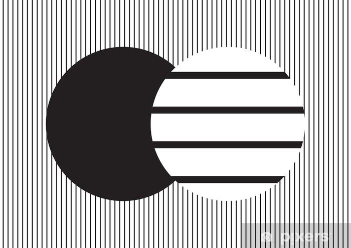 rideau occultant cercle en bandes verticales noires et blanches sur fond de bandes horizontales toile de fond et fond d ecran pixers nous vivons pour changer
