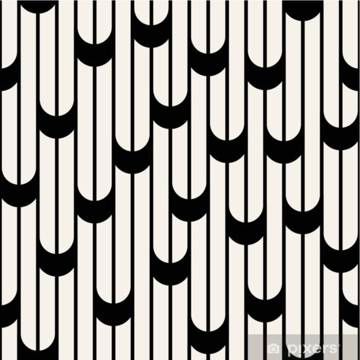 papier peint motif de lignes design graphique minimaliste abstrait noir et blanc geometrique