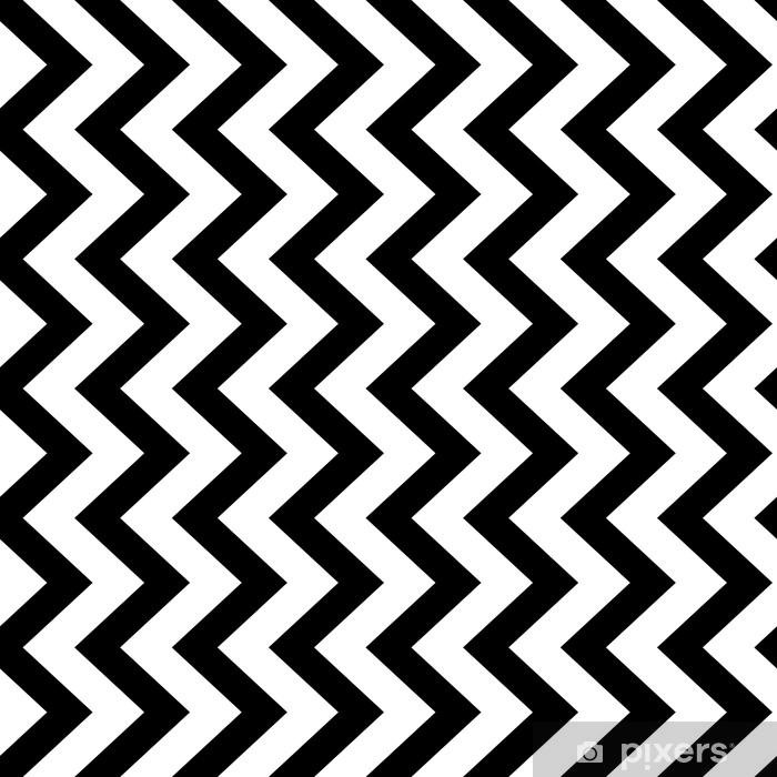 sticker zigzag vertical chevron sans soudure de fond en noir et blanc conception de vecteur vintage retro pixers nous vivons pour changer