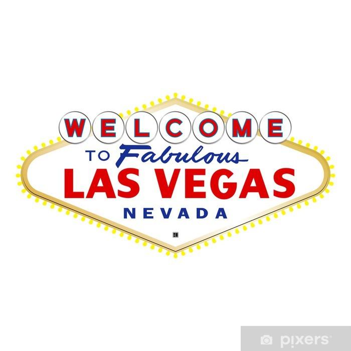 Fototapete Las Vegas Schild  Pixers  Wir leben um zu verndern