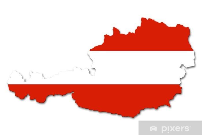Fotobehang Oostenrijk vlag  Pixers  We leven om te