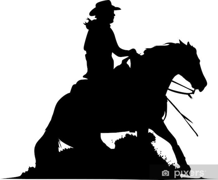 Fototapete Sliding Stop  Quarter Horse  Pixers  Wir