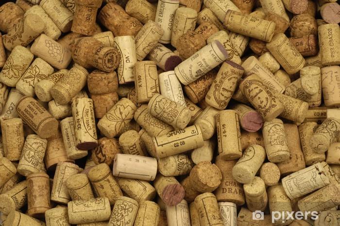 https pixers de fototapeten bouchon de vins francais en liege 21647921