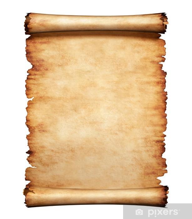 old parchment paper letter