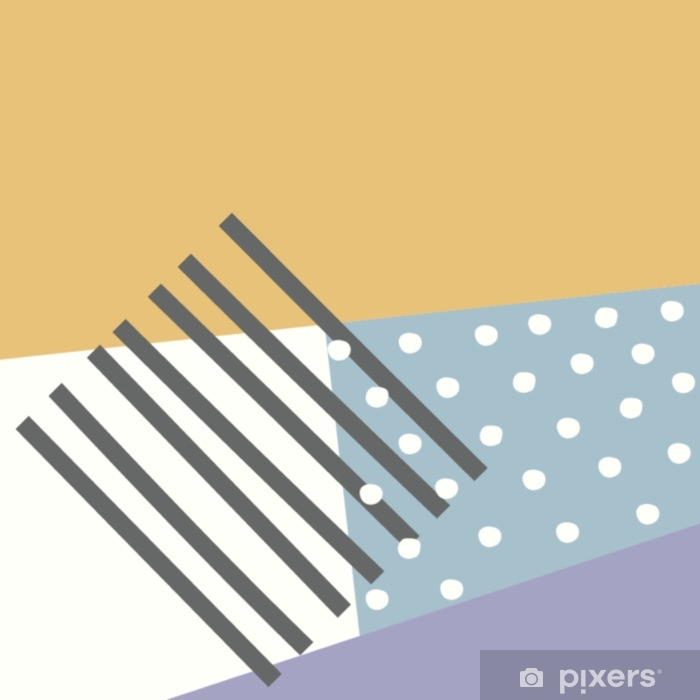 geometric pattern memphis design
