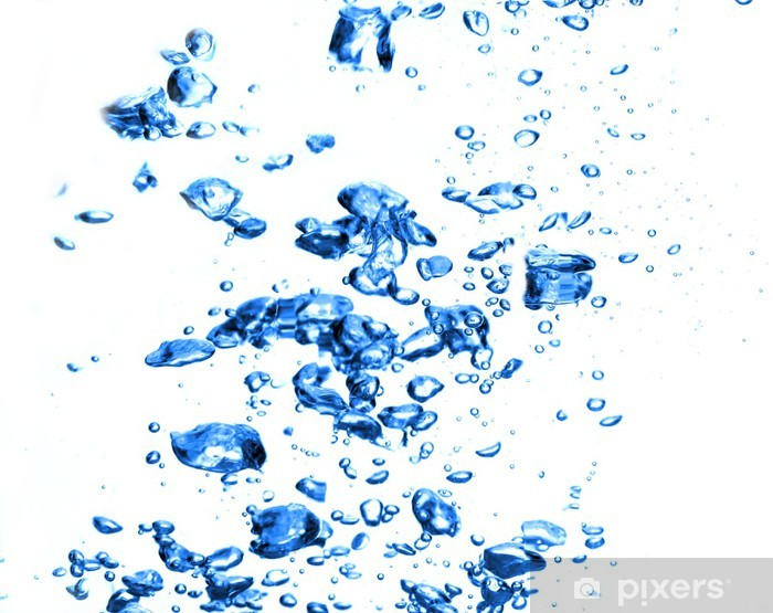 water bubbles isolated on