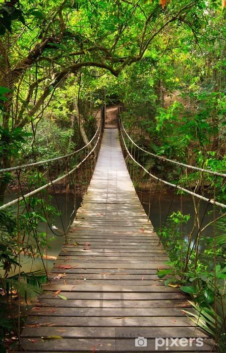 Sticker pour porte Combler dans la jungle Parc national Khao Yai Thalande  Pixers  Nous
