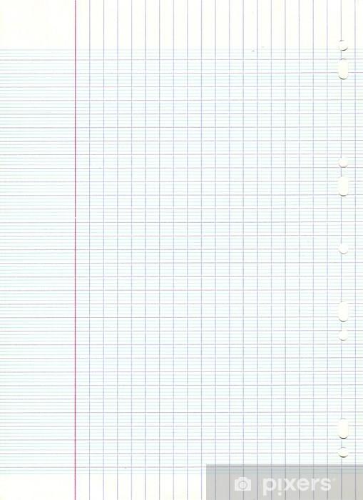 Feuille Pixel Art A Imprimer : feuille, pixel, imprimer, Feuille, Quadrillée, Perforée, Mural, Pixers®, Change