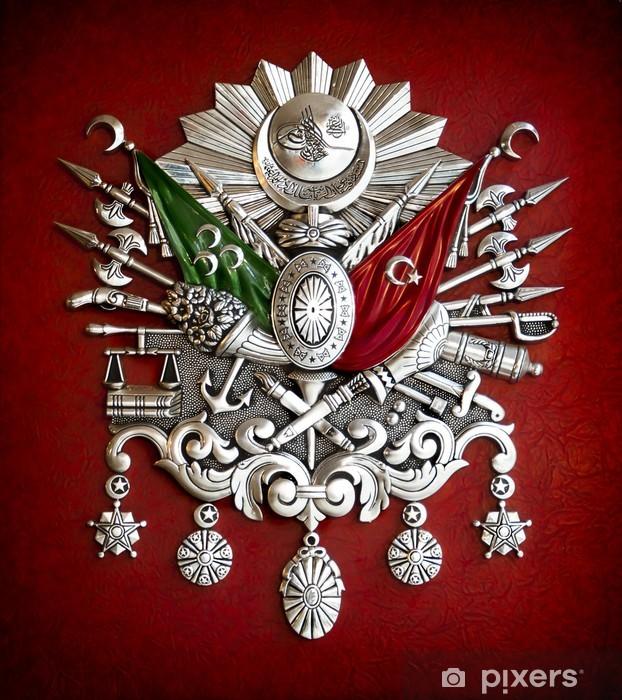 Fotobehang Embleem van Ottomaanse Rijk  Pixers  We