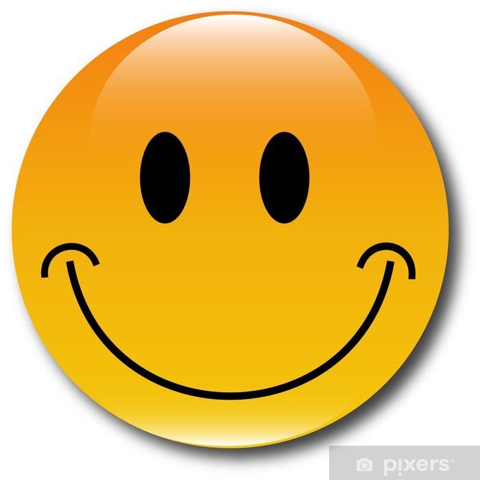 Fototapete Glcklich smiley Web Button  Pixers  Wir