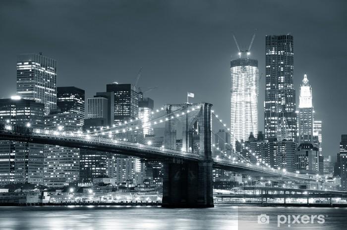 Non a caso diversi produttori hanno almeno un modello dedicato a new york. Carta Da Parati New York Ponte Di Brooklyn Pixers Viviamo Per Il Cambiamento