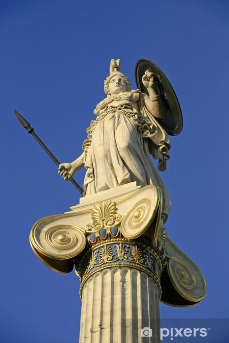 Adesivo Statua della dea Atena  Pixers  Viviamo per il cambiamento