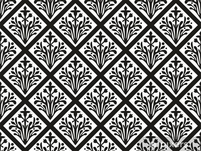 Se amate l´effetto retrò, potete puntare su una carta da parati vintage, mentre per la camera dei più. Carta Da Parati Seamless Geometrica Ornamento Gotico Vector Floral Pixers Viviamo Per Il Cambiamento