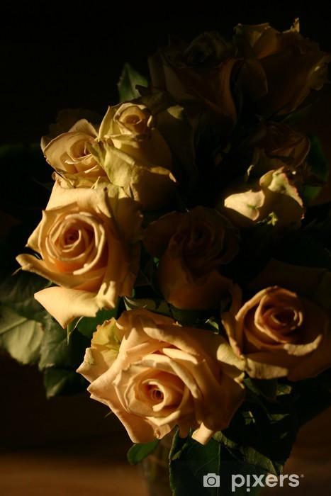 https pixers us stickers bouquet de roses fond noir vertical 46162