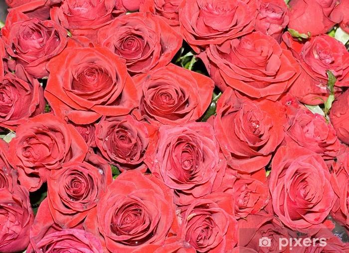Blumendeko Hochzeit Rote Rosen