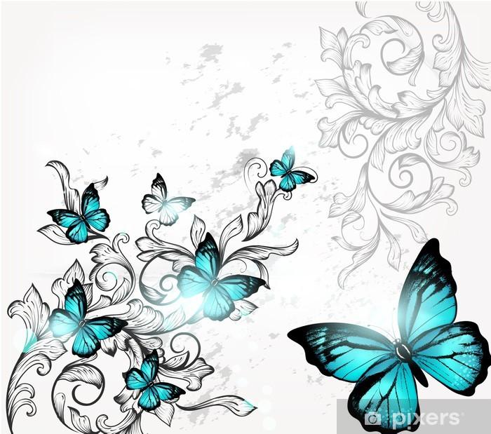 Il nostro paralume con farfalle è perfetto come regalo di compleanno, lampadari camerette bambini leroy merlin, per natale o persino come. Carta Da Parati Elegante Sfondo Con Le Farfalle E Ornamento Pixers Viviamo Per Il Cambiamento