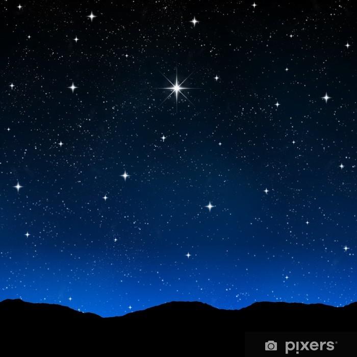 Carta da Parati Cielo stellato di notte  Pixers  Viviamo per il cambiamento