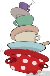 cocina animados cartoon utensilios dibujos geschirr kitchenware cucina vinilo pixerstick parati utensili animato cartone pixers ware cuisine kitchen vaisselle liusaart